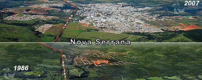 ***  Vista Aérea de Nova Serrana