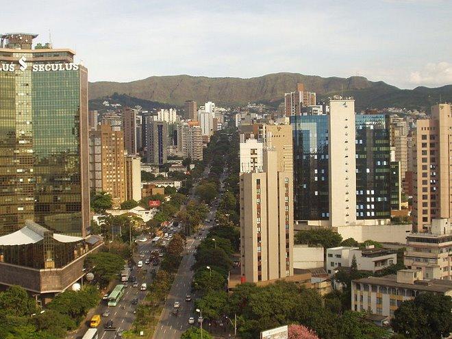 * Vista Parcial de Belo Horizonte  **