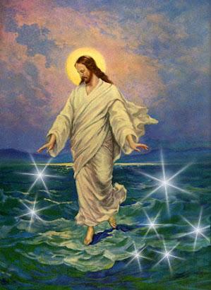 * A Levitação de Jesus no Mar Vermelho *