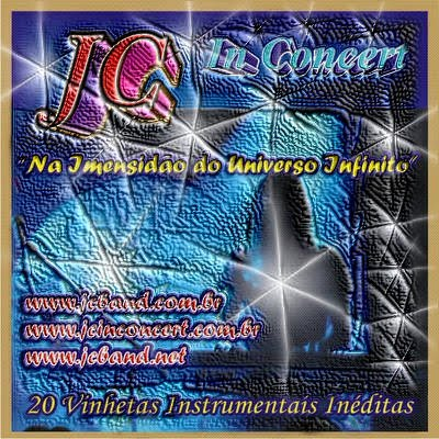 JC In Concert Capa de Cd