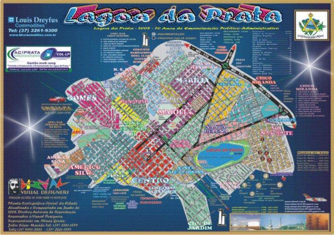 Planta Oficial Compacta de Lagoa da Prata