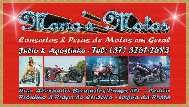 Mano's Motos - Oficina e Peças