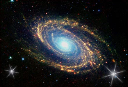 * A Via Láctea *