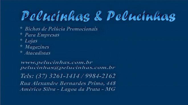 *  Pelucinhas - Indústria de Bichos de Pelúcia ***