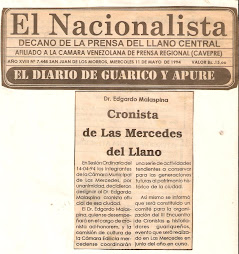 CRONISTA DESDE 1994...AD HONOREM