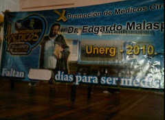 "X PROMOCIN DE MDICOS CIRUJANOS DE LA UNERG ""DR.EDGARDO MALASPINA""."