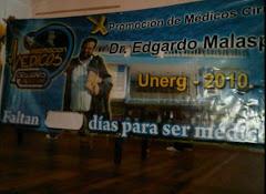 "X PROMOCIÓN DE MÉDICOS CIRUJANOS DE LA UNERG ""DR.EDGARDO MALASPINA""."