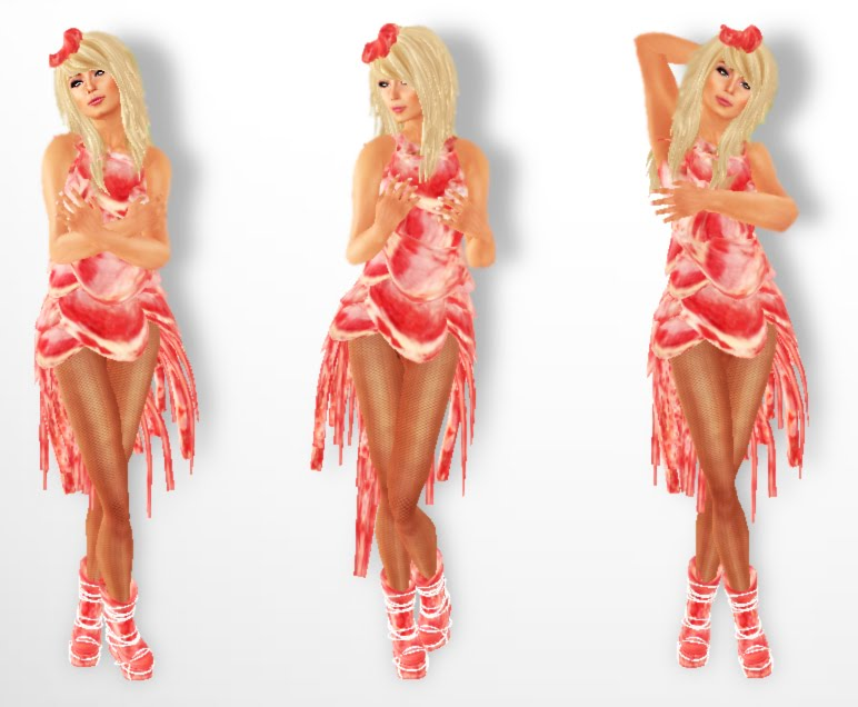 lady gaga meat dress real meat. pictures lady gaga meat dress