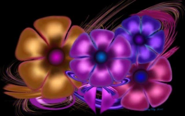 342895 - Digital Flowers