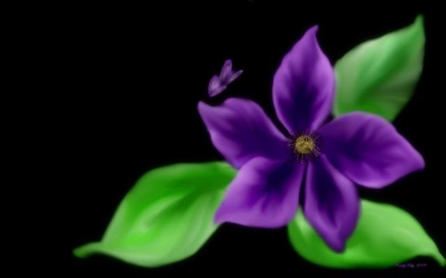 236243 - Digital Flowers