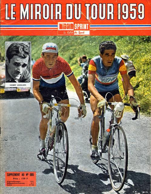 Mon tour de france 1959 la suite miroir sprint retour for Le miroir du cyclisme