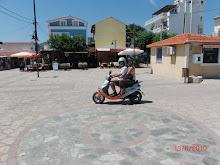 scooteren op Samos