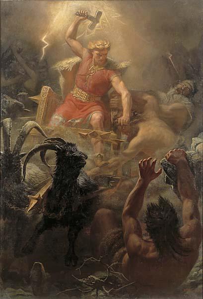 Ancient God Thor