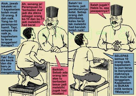 Datok Penerang Seri Utama & Cucu - TekaTeki Kapalselam Tak Tenggelam (Datok & Grandchild - Mystery of Submarine Unable to Dive). klakka-la.blogspot