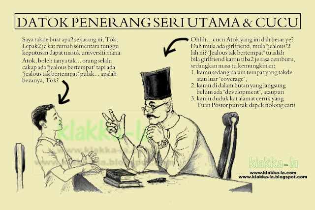 Simpulan Bahasa Terkini: Jeles Tak Ber-address. klakka-la.blogspot