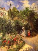 El jardín de Pontoise
