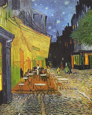 Terraza de café por la noche, Arles