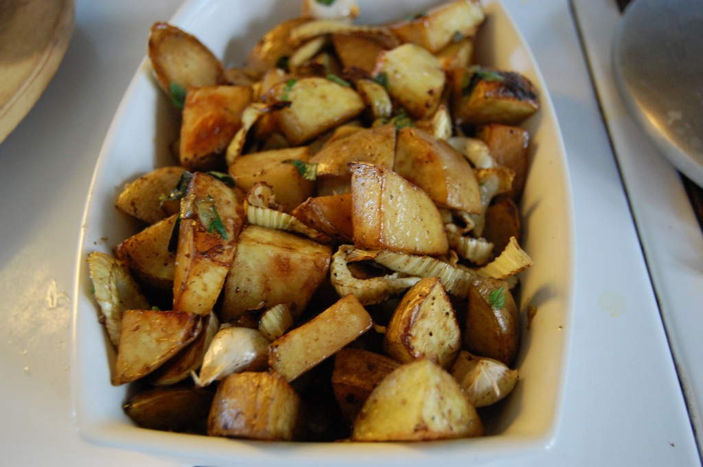 Ramshackle Solid: Roasted Fennel and Potatoes