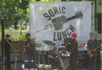 Sonic Lunch with Enter the Haggis