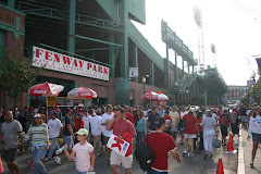 An Exterior View of Fenway Park