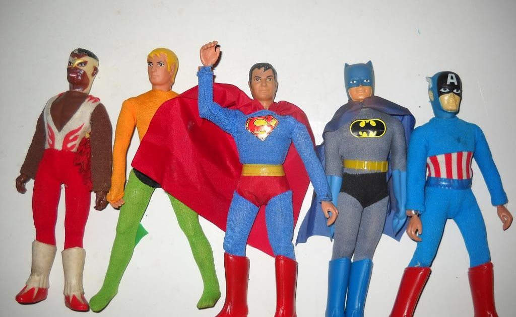 Best Super Hero Toys And Action Figures : Super hero collectibles five vintage mego