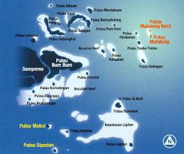 Peta Pulau-Pulau di Semporna