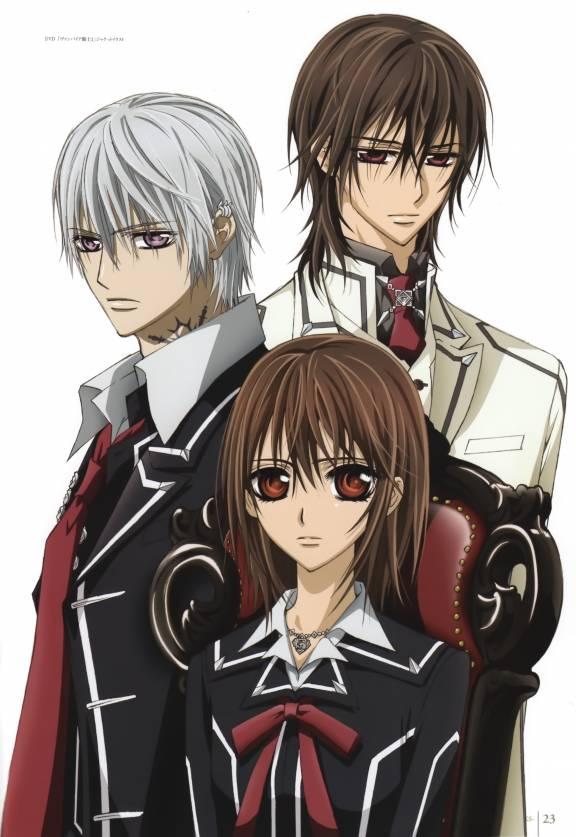 kaname, kiryuu and yuuki