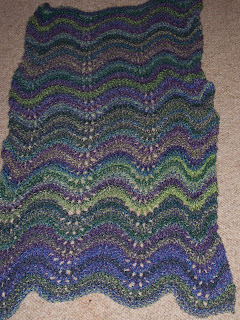 Free Knitting Pattern Old Shale Shawl - Crocheting Patterns, Knit