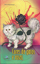 Cores de gatos e rosas
