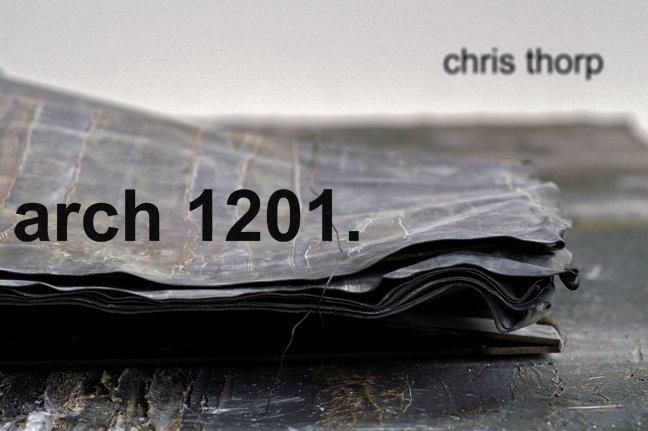 Chris Thorp ARCH 1201