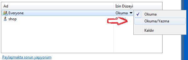 Windows 7 ile windows xp dosya paylaşımı nasıl yapılır