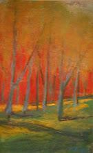 Verical Tree Series, Untitled  7 x 10