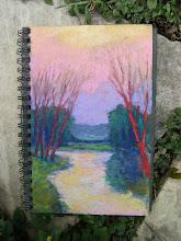 purple dusk    7 x 10