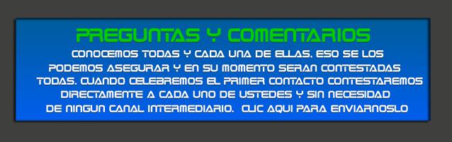 PREGUNTAS Y COMENTARIOS NAVE ALFA