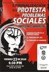 Problemas Sociales y la Criminalizacion de la Protesta