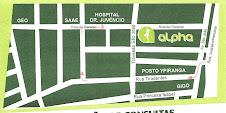 Localização da Clínica Alpha - Juazeiro/BA