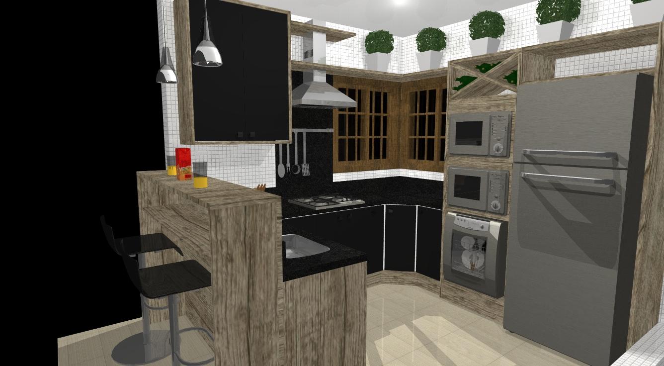 Cozinha Com Adega Alm De Ser Muito Til A Adega Deixa Tambm A