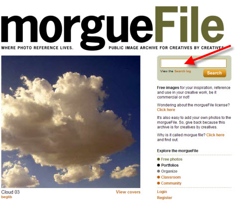 Free images on Morquefile