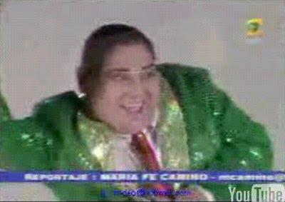 Tongo imitando a Carmona