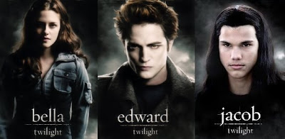 Breaking Dawn Movie - Bella, Edward and Jacob