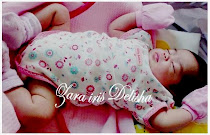 Baby Zara 1 month old