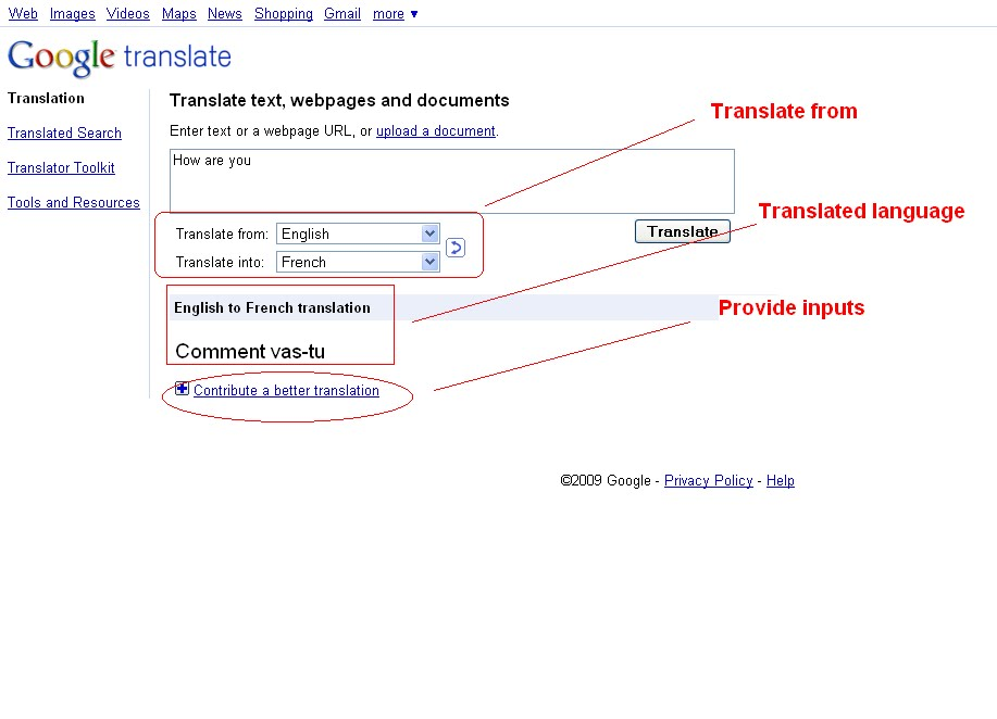 funny google translate