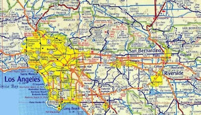 Online Maps Southern California Road Map - California highway map