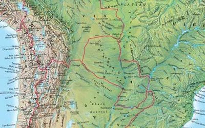 Online Maps: South America physical map on physical features of america, greenland canada maps of the america's, civilization map america's,