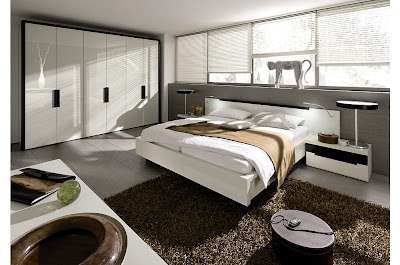contemporary elegant bedroom design