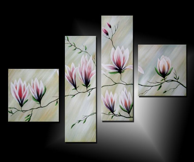 Cuadros modernos de flores imagui for Imagenes cuadros modernos