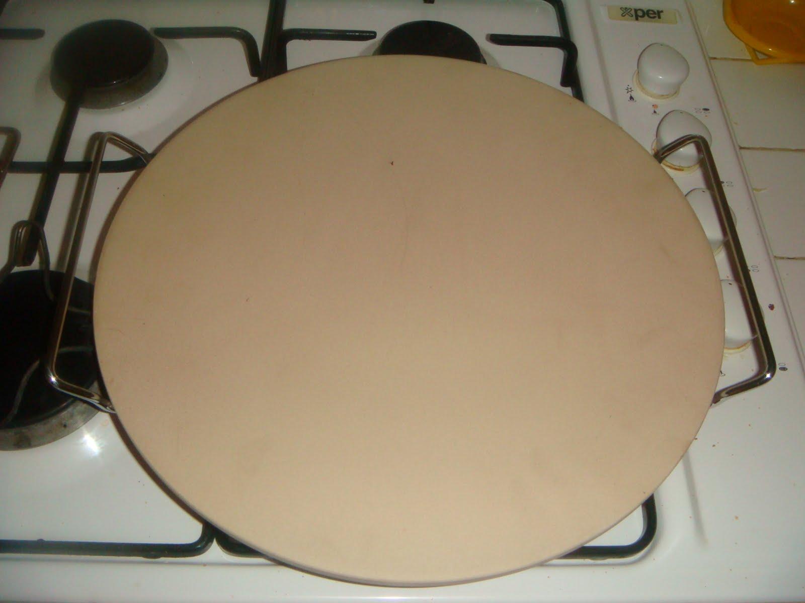 Dolcemente salato pizza a lievitazione 24h e pietra refrattaria - Pietra per forno elettrico ...