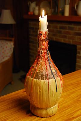 Artistic Turned Wine Glass