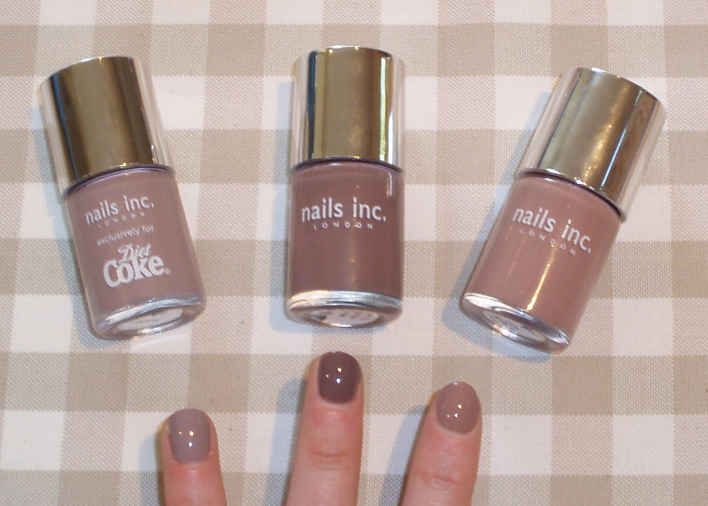 Snowdrop85: Nails Inc - Taupe Comparisons