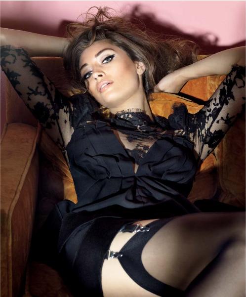Italian model turned actress